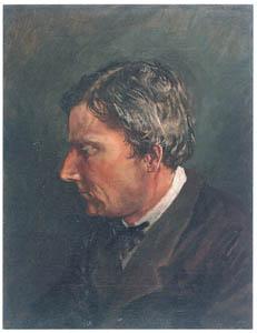 チャールズ・ワーグマン – 自画像 [近代洋画の開拓者 高橋由一展より]のサムネイル画像