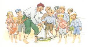 エルサ・ベスコフ – 挿絵6 [ペーテルおじさんより]のサムネイル画像
