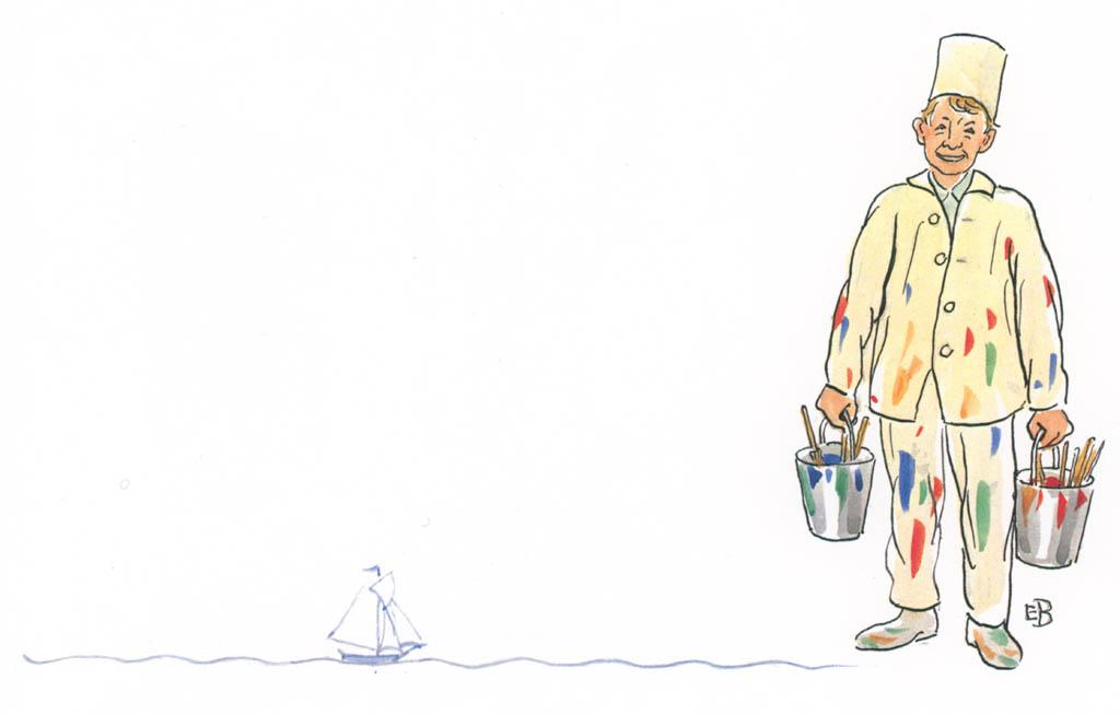 エルサ・ベスコフ – 挿絵21 [ペーテルおじさんより] パブリックドメイン画像