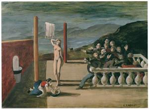 エドガー・エンデ – 興奮する人びと [エンデ父子展より]のサムネイル画像