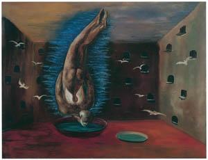 エドガー・エンデ – 鳥人間 [エンデ父子展より]のサムネイル画像