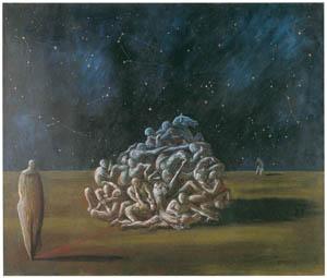 エドガー・エンデ – 夜の戦い [エンデ父子展より]のサムネイル画像