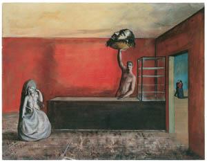 エドガー・エンデ – 荒廃した店 [エンデ父子展より]のサムネイル画像