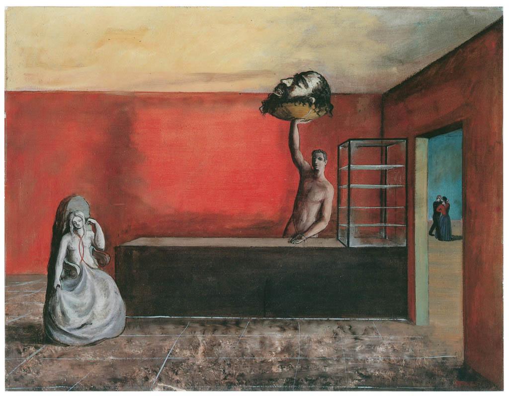 エドガー・エンデ – 荒廃した店 [エンデ父子展より] パブリックドメイン画像