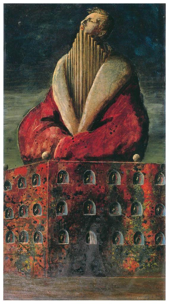 エドガー・エンデ – オルガン王 [エンデ父子展より] パブリックドメイン画像