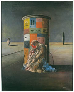 エドガー・エンデ – 広告塔のマドンナ [エンデ父子展より]のサムネイル画像