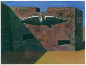 エドガー・エンデ – 壁のなかから [エンデ父子展より]のサムネイル画像