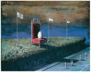 エドガー・エンデ – 大きな卵 [エンデ父子展より]のサムネイル画像