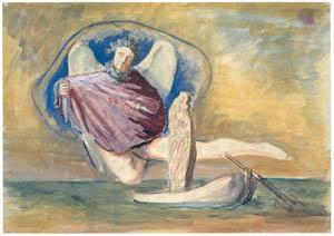 エドガー・エンデ – 自殺者の天使 [エンデ父子展より]のサムネイル画像