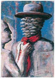 エドガー・エンデ – 漁師の別れ [エンデ父子展より]のサムネイル画像