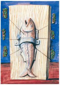 エドガー・エンデ – 魚 [エンデ父子展より]のサムネイル画像
