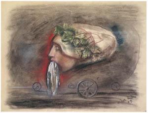 エドガー・エンデ – 驚愕 [エンデ父子展より]のサムネイル画像