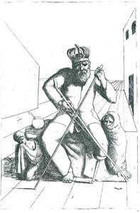 エドガー・エンデ – 乞食王 [エンデ父子展より]のサムネイル画像