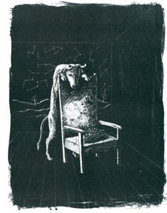 エドガー・エンデ – 雄牛と葡萄 [エンデ父子展より]のサムネイル画像