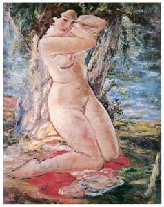 田中保 – 森の裸婦 [祖国に蘇る幻の巨匠 田中保展より]のサムネイル画像