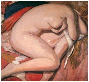 田中保 – 眠る裸婦 [祖国に蘇る幻の巨匠 田中保展より]のサムネイル画像