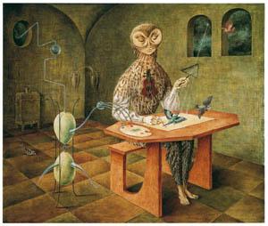 レメディオス・バロ – 鳥の創造 [レメディオス・バロ展より]のサムネイル画像