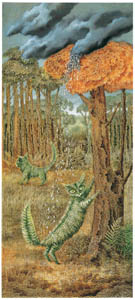 レメディオス・バロ – 羊歯猫 [レメディオス・バロ展より]のサムネイル画像