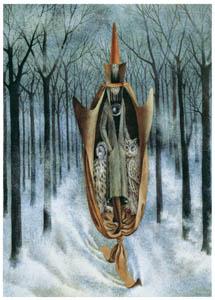 レメディオス・バロ – スキーヤー [レメディオス・バロ展より]のサムネイル画像