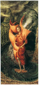 thumbnail Remedios Varo – Ascensión al monte análogo [from Exhibition Catalog of Remedios Varo 1999]