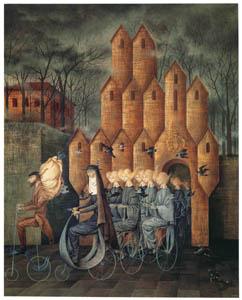 thumbnail Remedios Varo – Hacia la Torre [from Exhibition Catalog of Remedios Varo 1999]