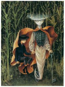レメディオス・バロ – 宝瓶宮に向かう [レメディオス・バロ展より]のサムネイル画像