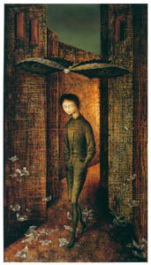 thumbnail Remedios Varo – Oleo sobre masonite [from Exhibition Catalog of Remedios Varo 1999]