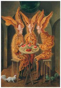 thumbnail Remedios Varo – Vampiros vegetarianos [from Exhibition Catalog of Remedios Varo 1999]