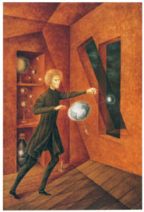 thumbnail Remedios Varo – fenómeno-de-ingravidez [from Exhibition Catalog of Remedios Varo 1999]