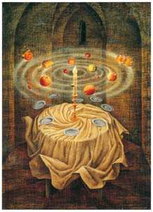 thumbnail Remedios Varo – Naturaleza muerta resucitando [from Exhibition Catalog of Remedios Varo 1999]