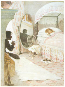 "thumbnail Jessie Willcox Smith – ""No. She cannot be dirty. She never could have been dirty"" [from The Water Babies]"