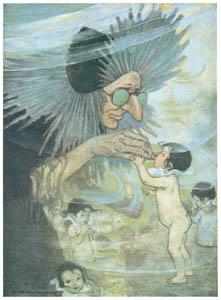 ジェシー・ウィルコックス・スミス – 挿絵9 [水の子どもたちより]のサムネイル画像