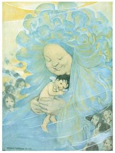 ジェシー・ウィルコックス・スミス – 挿絵12 [水の子どもたちより]のサムネイル画像