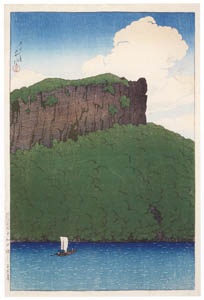 thumbnail Hasui Kawase – Souvenirs of My Travels, 1st Series : Senjomaku, Lake Towada [from Kawase Hasui 130th Anniversary Exhibition Catalogue]