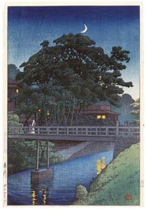 thumbnail Hasui Kawase – Twenty Views of Tokyo : The Takinogawa RIVer [from Kawase Hasui 130th Anniversary Exhibition Catalogue]