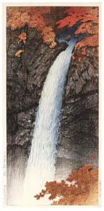 川瀬巴水 – 日光華厳の瀧 [生誕130年 川瀬巴水展 郷愁の日本風景より]のサムネイル画像