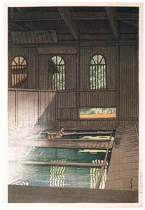 川瀬巴水 – 上州法師温泉 [生誕130年 川瀬巴水展 郷愁の日本風景より]のサムネイル画像