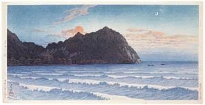 thumbnail Hasui Kawase – Kominato, Boshu [from Kawase Hasui 130th Anniversary Exhibition Catalogue]