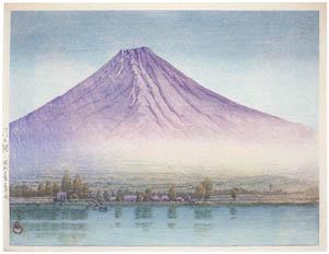 川瀬巴水 – 河口湖 [生誕130年 川瀬巴水展 郷愁の日本風景より]のサムネイル画像