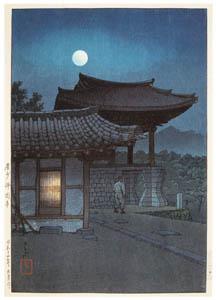 thumbnail Hasui Kawase – Eight Views of Korea : Bulguksa Temple, Gyeongju [from Kawase Hasui 130th Anniversary Exhibition Catalogue]