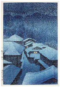 川瀬巴水 – 塩原畑下り [生誕130年 川瀬巴水展 郷愁の日本風景より]のサムネイル画像