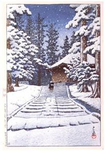 川瀬巴水 – 平泉金色堂 [生誕130年 川瀬巴水展 郷愁の日本風景より]のサムネイル画像