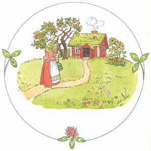 thumbnail Elsa Beskow – Plate 1 [from Tale of the Little Little Old Woman]