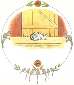 thumbnail Elsa Beskow – Plate 3 [from Tale of the Little Little Old Woman]