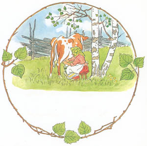 thumbnail Elsa Beskow – Plate 5 [from Tale of the Little Little Old Woman]