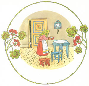 thumbnail Elsa Beskow – Plate 6 [from Tale of the Little Little Old Woman]