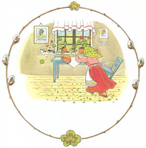 thumbnail Elsa Beskow – Plate 9 [from Tale of the Little Little Old Woman]
