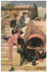 thumbnail John William Waterhouse – Diogenes [from J.W. Waterhouse]