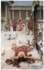 thumbnail John William Waterhouse – St. Eulalia [from J.W. Waterhouse]