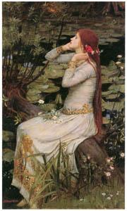 ジョン・ウィリアム・ウォーターハウス – オフィーリア [J.W. Waterhouseより]のサムネイル画像